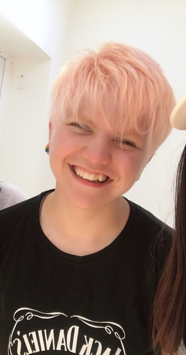 2018 (May) - Pastel pink - Age: 20